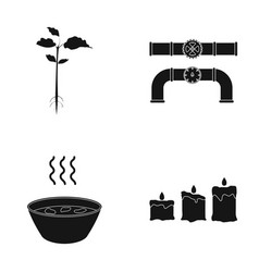 Nature ecology industry and other web icon in vector