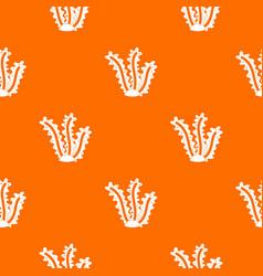 seaweed pattern seamless vector image