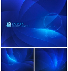 Sapphire abstract background vector