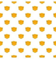 Square box pattern cartoon style vector