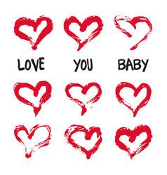 Valentines day card wedding invitation birthday vector