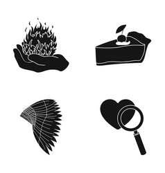 Love relationship cooking and other web icon in vector