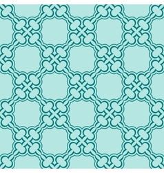 turquiose seamless pattern vector image