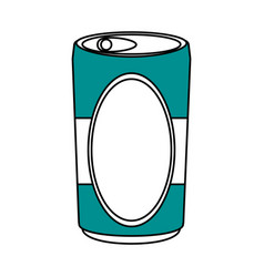 Soda can design vector