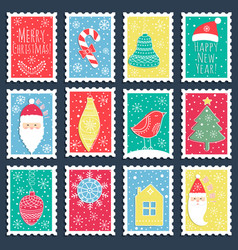 the christmas banners vector image