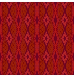 Stylized Uzbek ethnic pattern vector image
