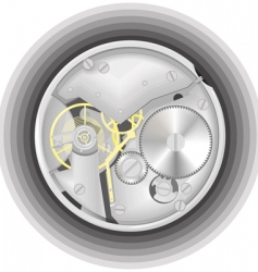 Mechanism of a watch vector