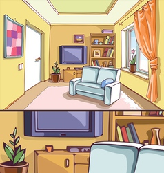 Light living room vector