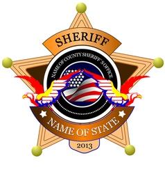 al 0433 sheriff 02 vector image