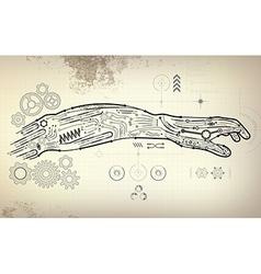 Arm preview vector