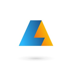 Letter l logo icon vector