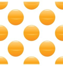 Yellow ball pattern vector