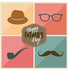 Fathers accessories vector