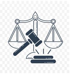 Icon social justice vector