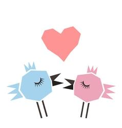 Love a bird vector image vector image