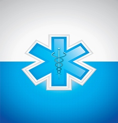Medical brochure vector image