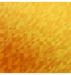 Triangle yellow background vector image