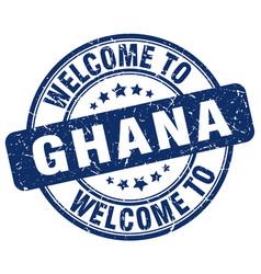 Welcome to ghana vector