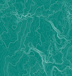 Topographic map background in green colors vector