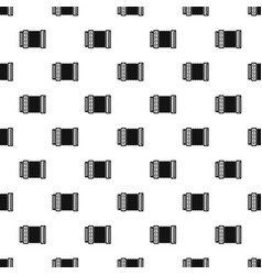 accordion pattern vector image
