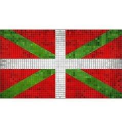 Basque flag vector
