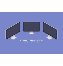 Computer icon set graphic vector image