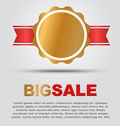 Design a poster for sale vector image vector image