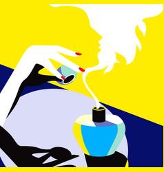 New fragrance vector