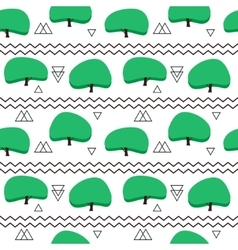 Seamless pattern in modern Scandinavian style vector image vector image