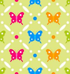 Butterfly stitches vector