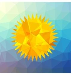 Mosaic sun vector