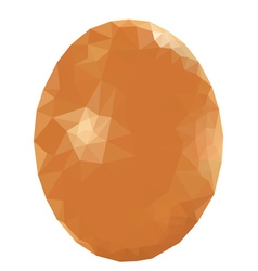 Colorful polygonal egg2 vector