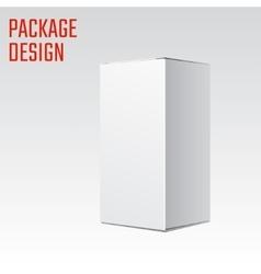 White Box vector image