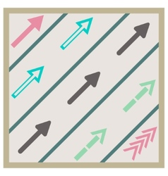 road arrows set vector image