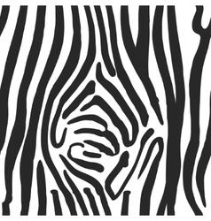 Zebra print pattern vector