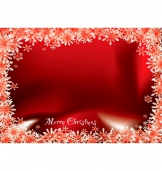 Christmas flake vector