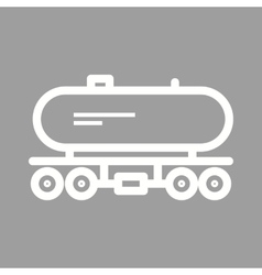 Tank wagon vector