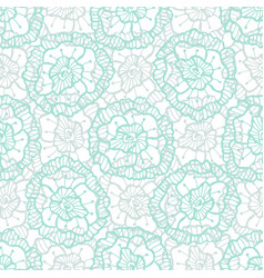Lace floral pattern fashion fabric textile swatch vector