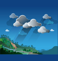 Extreme weather vector