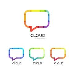 Concept logo template vector image