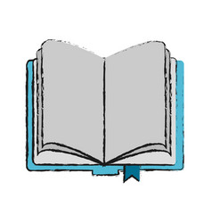 open school book vector image