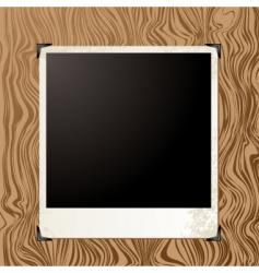 picture wood vector image vector image