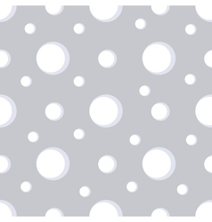 Simple seamless snow pattern with snowflakes vector