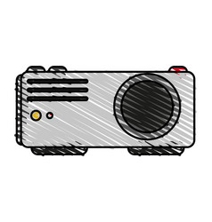 Video beam icon image vector