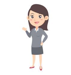 Business women character cartoon vector