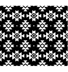 aztec pattern tribal background navajo de vector image vector image