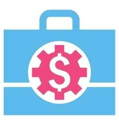 Bank Career Options Flat Icon vector image vector image