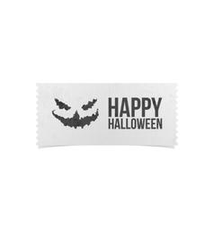 Happy Halloween Party Ticket Design vector image vector image