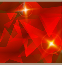 Red star abstract background vector