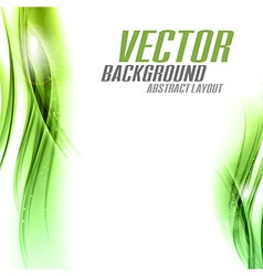 background green sided vector image